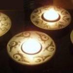 čajové svícny