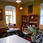 Interiér keramického atelieru